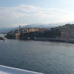 3 1/2 Stunden später, Ankunft in Bastia