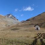 Aufstieg zum Col de Vars