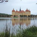 Schloß Moritzburg das schönste Wasserschloß Sachsens