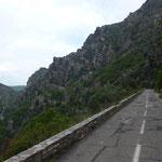 Défilé de Lancone Richtung Col San Stefano