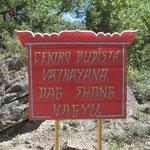 ein buddhistisches Kloster... auch das gibt es in den Bergen