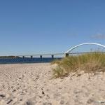 die Fehmarnsund-Brücke zur Insel Fehmarn