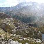 Phantastische Aussicht vom Colle de Nivolet