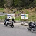 Die weiterfuehrende Strasse zum Lac de Cap-de-Long war leider gesperrt