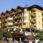 in Molveno angekommen - Hotel Alexander
