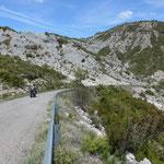 Aufstieg zum Coll de San Caprasio