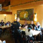 Mittagspause in Loßheim am See (Brauhaus)