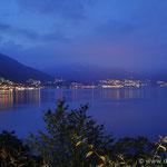 """der """"Lago"""" bei Nacht mit Blick nach Ascona"""