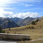 Baisse de Peirifique Auffahrt zum Colle di Tende