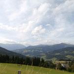 Auf der Gerlitzen-Gipfelstrasse