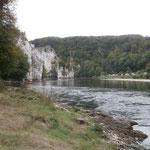 Blick zum Donaudurchbruch