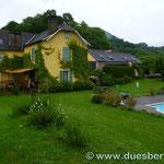und wieder auf französischem Boden in Issor (Auberge les 3 Boudets)