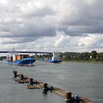 Kiel-Wiek, der Osteingang zum Nord-Ostsee-Kanal