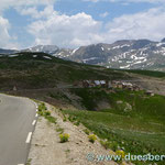 Verlassener Militärposten Richtung Col de la Bonette