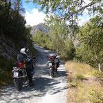 Motiviert zum Col de Colombardo
