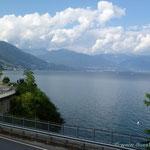 am Lago Maggiore angekommen