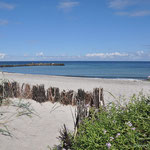 uns fehlen die Wellen an der Ostsee
