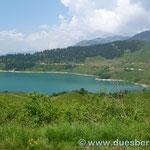 der Lac de Roselend