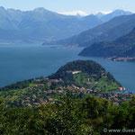 Bellaggio (von hier mit der Fähre nach Cadenabbia)