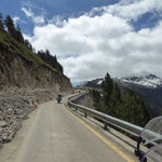 Anfahrt auf den Col de Bonaigua