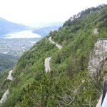 vom Monte Rovere nach Levico Terme