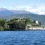 Isola Bella, wurde 1671 mit den Terrassenanlagen vollendet