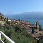 Gargano am Garda See von oben