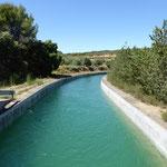 Cinca - Wasserkanal zur Wasserversorgung im Süden