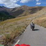 Aufstieg zum Col de la Bonette