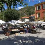 Markt in Saint-Martin-Vésubie