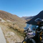 Fahrt Richtung Col du Glandon