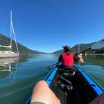 ...und wieder eine kleine Bootstour am Nachmittag