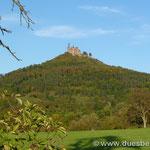 die Burg Hohenzollern als preussischer Stammessitz