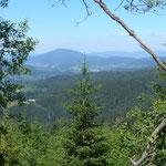 Blick über die Grenze in den Böhmerwald