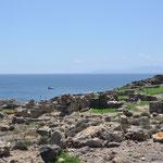 Tharros eine ehemalige phönizisch-römischen Hafenstadt