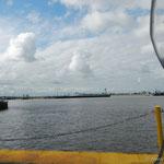 die Weserfähre von Bremerhaven nach Blexen