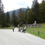 im Radovna Tal in Slowenien