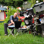 ...und wieder zurück auf dem Campingplatz am Lago d'Idro