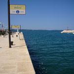 Hafen  Fazana - Ablegestelle nach Brijuni