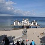 Rügen, die Seebrücke von Sellin