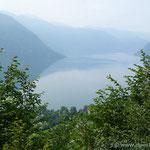 Blick auf den Lago d'Idro von Norden