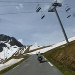 Anfahrt zum Col du Tourmalet