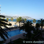 Blick vom Hotelzimmer auf Roses (Hotel Monterrey) in St. Margarida