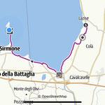 Radtour nach Sirmione - hin per Rad/zurück per Schiff