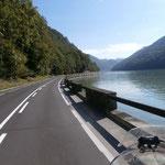 die Donau bei Grein