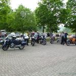 Parkplatz in Beuron am Kloster
