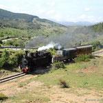 """der """"Trenino Verde"""" auf Tourifahrt"""