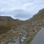 Aufstieg zum Colle Valcavera