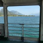 Fähre von Maderno nach Tori
