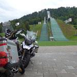Letzte Übernachtung von der Tour im Olympiahaus in Garmisch